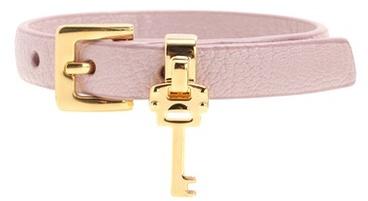Miu MiuMiu Miu Embellished Leather Bracelet