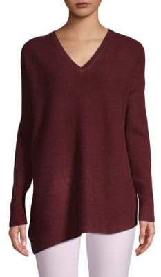 Saks Fifth Avenue Dropped Shoulder Cashmere Sweater