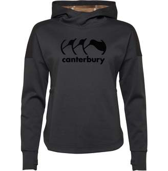 Canterbury of New Zealand Womens VapoDri Logo Fleece Hoody Ombre Blue