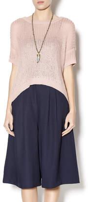 Kensie Blush Knit Sweater