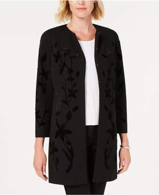 Alfani Velvet Flocked Jacket