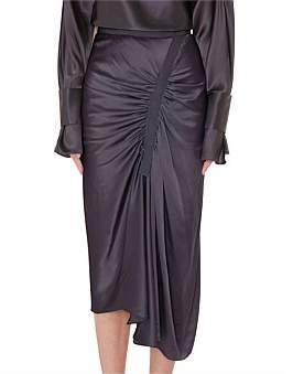 CHRISTOPHER ESBER Incline Taped Gathered Skirt