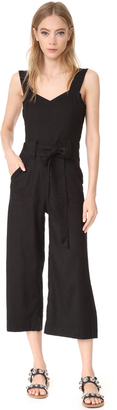7 For All Mankind Belted Jumpsuit $279 thestylecure.com