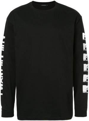 GUILD PRIME MTV print longsleeved T-shirt