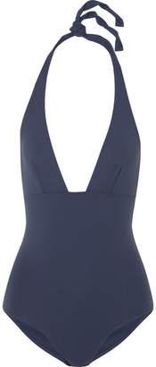 Eres Les Essentiels Lupin Halterneck Swimsuit - Storm blue