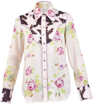 DSQUARED2 Multicolored Printed Shirt