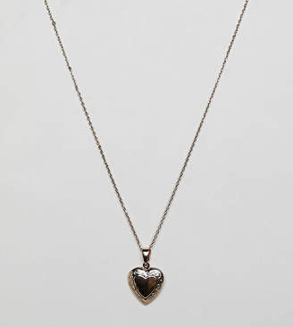 Liars & Lovers gold heart locket pendant necklace