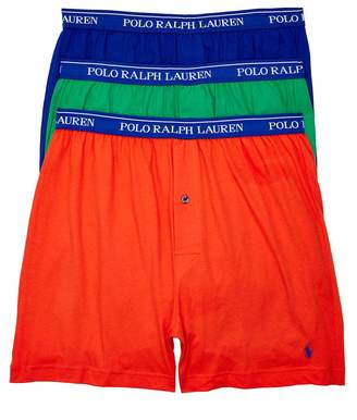 Polo Ralph Lauren Classic Fit Knit Boxers 3-Pack, M