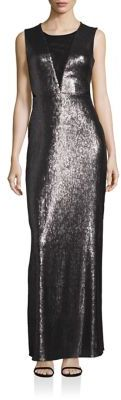 Laundry by Shelli Segal Open Back Sequin Gown $325 thestylecure.com