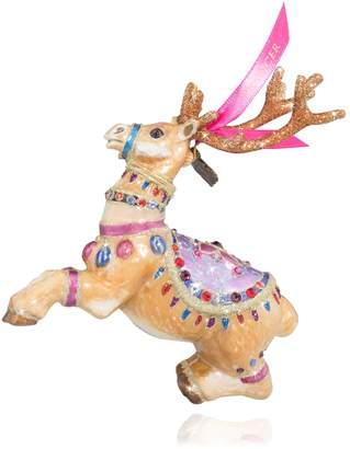 Jay Strongwater Prancer Reindeer Ornament