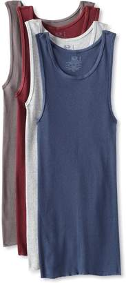 Fruit of the Loom Men's 4Pack White A-Shirts Tank Tops Tanks Undershirts 5XL