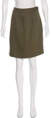 Valentino Wool Knee-Length Skirt