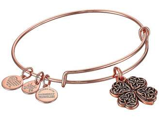 Alex and Ani Path of Symbols-Four Leaf Clover IV Bangle