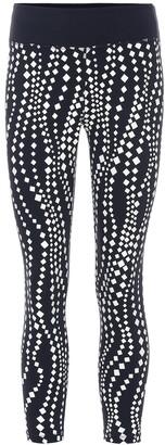Tory Sport Diamond Waves leggings
