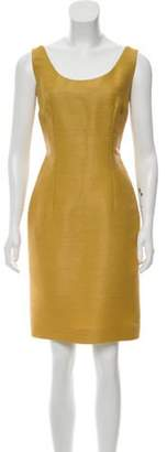 Christian Dior Woven Scoop Neck Dress Woven Scoop Neck Dress