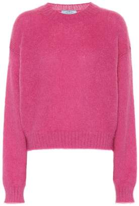 Prada Exclusive to Mytheresa – mohair-blend sweater