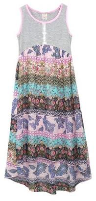 Sara Sara Neon Girls' Sara Sara Neon High Low Dress - Doll Pink $34.99 thestylecure.com