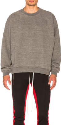 Fear of God Heavy Terry Crew Neck $595 thestylecure.com