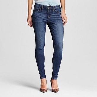Women's Mid-rise Skinny Jeans Dark Wash - Mossimo $27.99 thestylecure.com