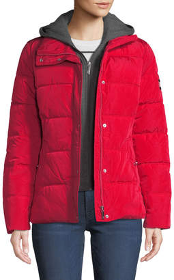 T.H. Designs Puffer Jacket w/ Removable Hoodie Insert