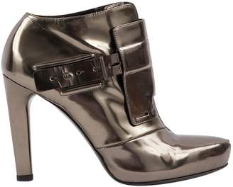 Chalayan Vintage Metallic Patent leather Boots
