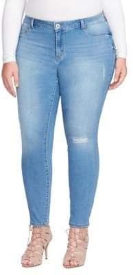 Jessica Simpson Plus Distressed Jeans