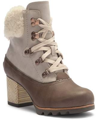 Sorel Jayne Lux Genuine Shearling Boot