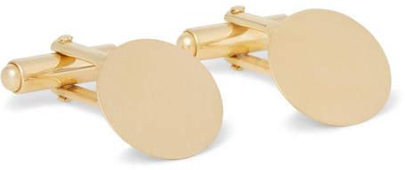 Lanvin Brushed Gold-Tone Cufflinks