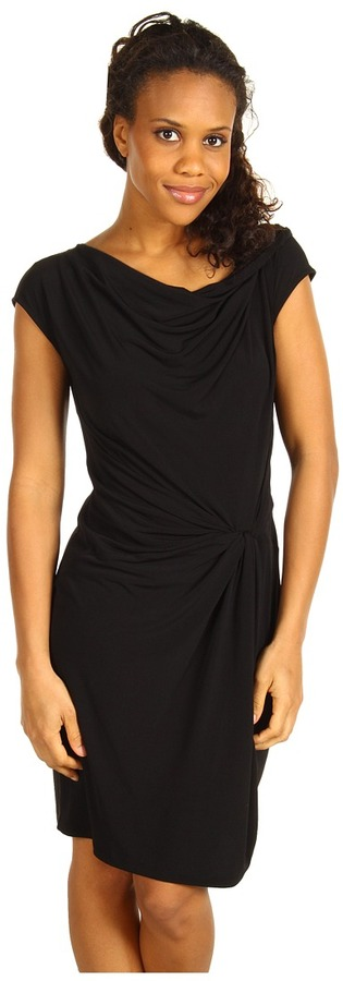 MICHAEL Michael Kors - Cowl Twist Dress w/ Knot Front