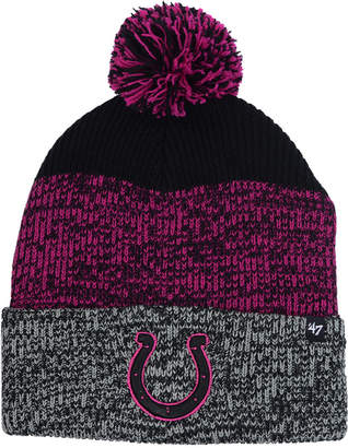 '47 Indianapolis Colts Static Cuff Pom Knit Hat