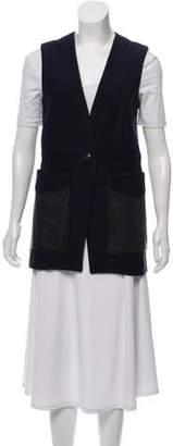Rag & Bone Long Collarless Vest