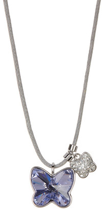Swarovski Classic Crystal Butterfly Necklace $69 thestylecure.com