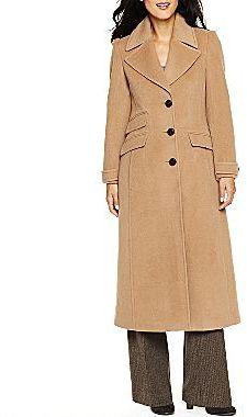 JCPenney Worthington® Tailored Wool-Blend Coat