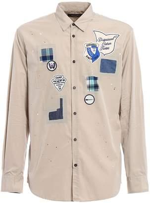 DSQUARED2 Boy Scout Badge Shirt