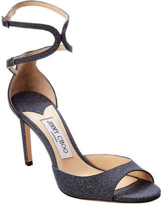 Jimmy Choo Lane 85 Glitter Sandal