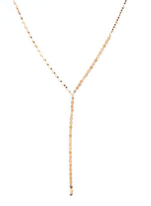 Lana Nude Lariat Disc Necklace
