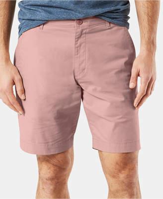 "Dockers Men DuraFlex Lite Straight-Fit Stretch Moisture-Wicking 9"" Chino Shorts"