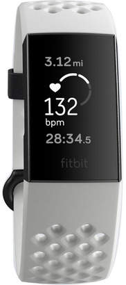 Fitbit Charge 3 Unisex White Smart Watch-Fb410gmwt