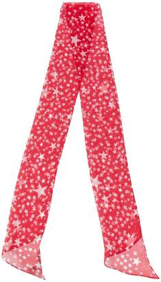 Stella McCartney star print scarf
