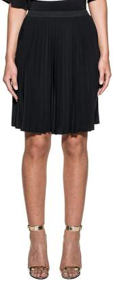 MM6 MAISON MARGIELA Black Pleated Skirt