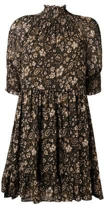 Ulla Johnson floral print silk dress
