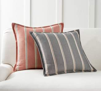 Pottery Barn Malton Yarn-Dyed Stripe Pillow Cover