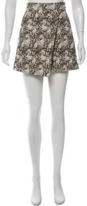Tory Burch Jacquard Mini Skirt