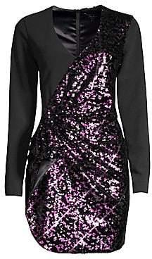 Parker Black Women's Becca Beaded Long Sleeve Dress