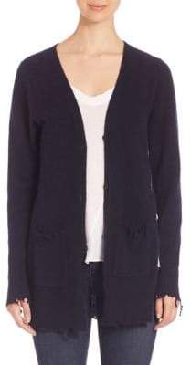 RtA Andre Distressed Cashmere Cardigan