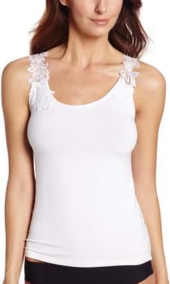 Arianne Women's Teri Reversible Guipure Lace Trim Camisole