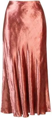 Brock Collection flared slip skirt