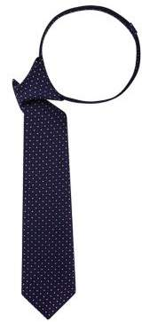 Lord & Taylor Boy's Dotted Pre-Tied Silk Tie