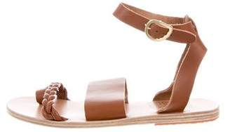 Ancient Greek Sandals Leather Flat Sandals