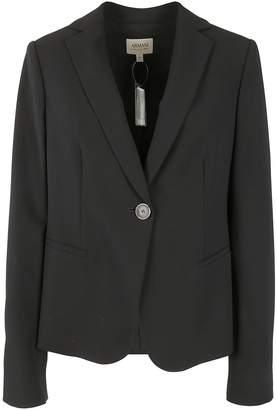 Armani Collezioni Single-Breasted Blazer
